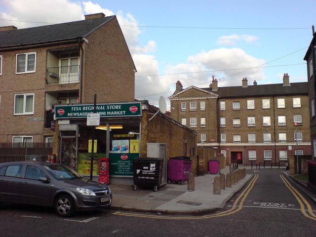 Shop and Flats, Saltwell Street, E14