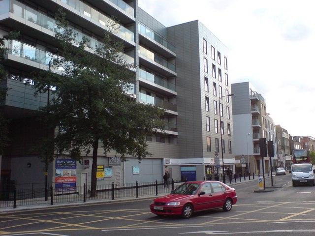 Shop and Flats, Poplar High Street