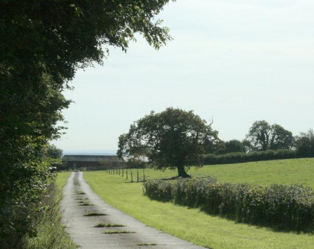 2009 : Entrance to Burnt House Farm