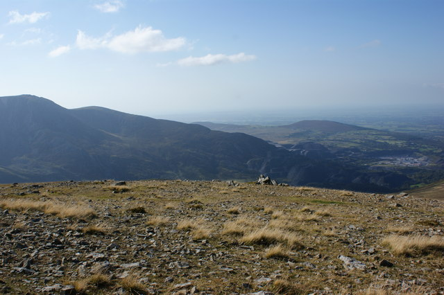 It's not on the top, but it's the nearest I'll get to a cairn for Foel Graig