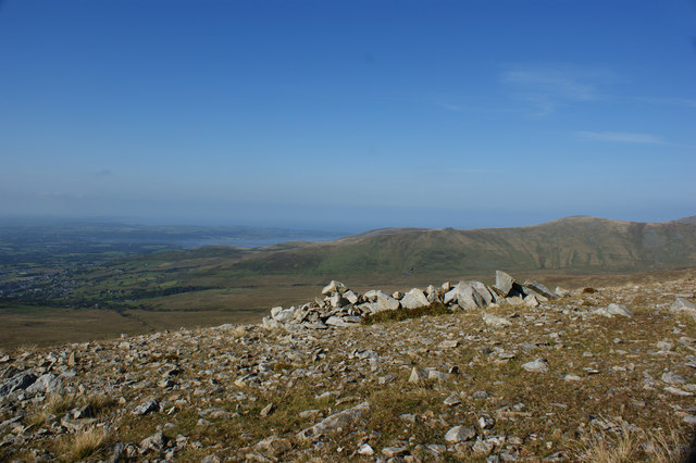 A better view of the Foel Graig cairn