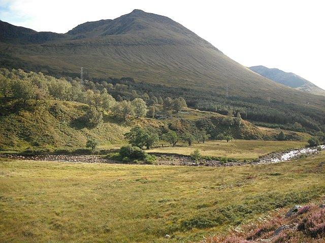 Crannach Wood and Beinn Achalladair