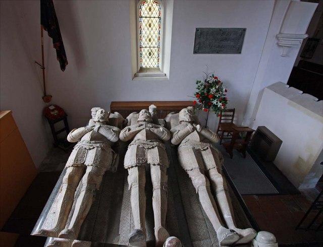 St Andrew, Boreham, Essex - Effigies