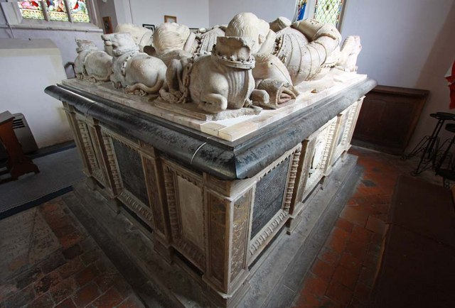 St Andrew, Boreham, Essex - Tomb chest