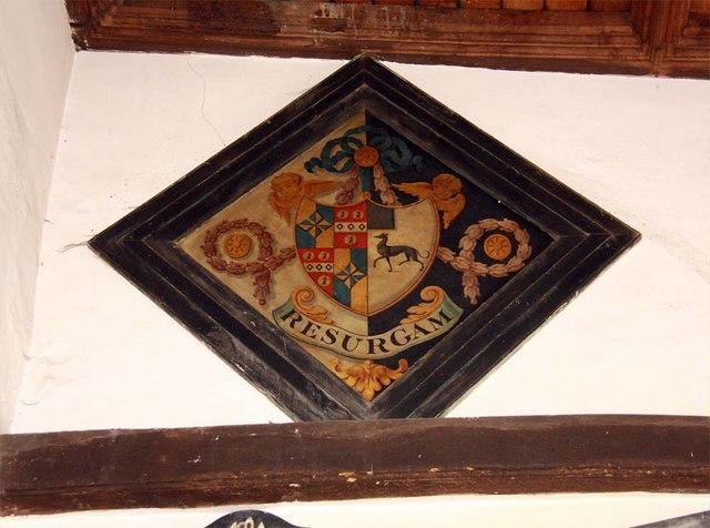 St Andrew, Boreham, Essex - Hatchment