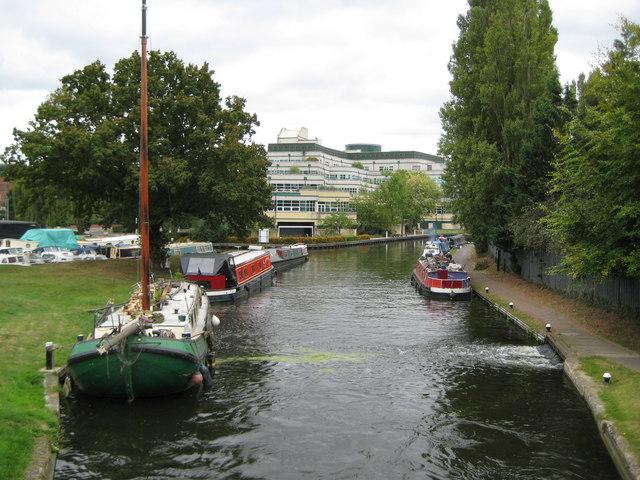 Grand Union Canal at Uxbridge