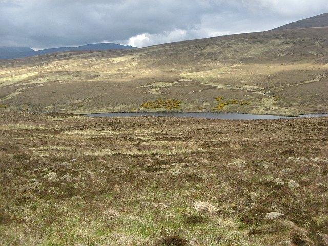 Moorland above Loch Coulside