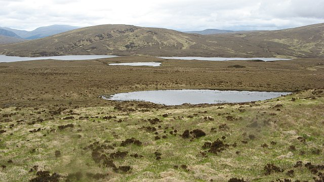 Moorland around Loch Meadie
