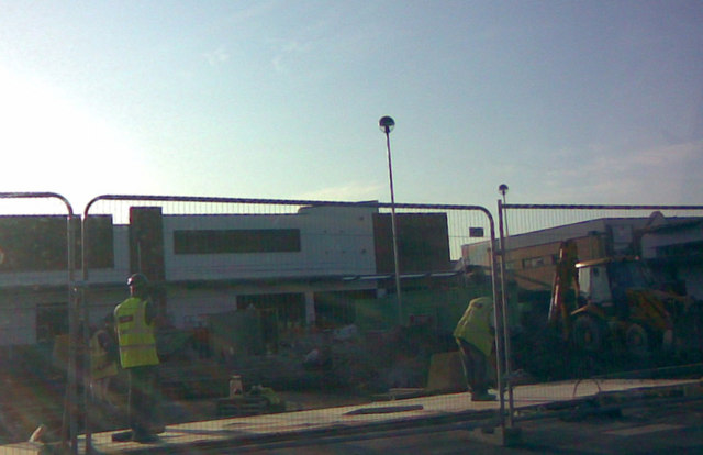 More shops going up at Westwood Cross!