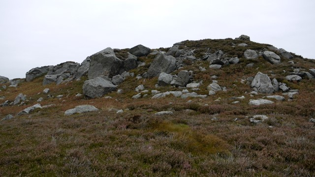 Rocky hill south of the Drake Stone