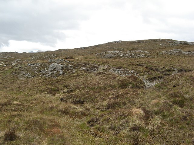 West side of Cnoc an Daimh Mòr