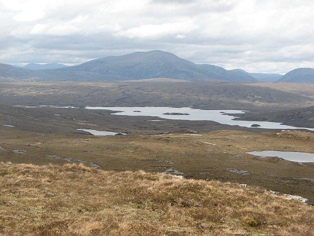 Southwestern side of Cnoc an Daimh Mòr