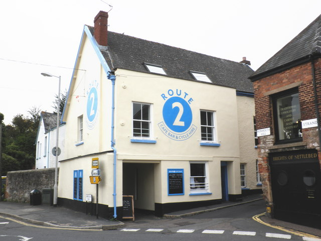Route 2, cafe bar and cycle hire, Topsham