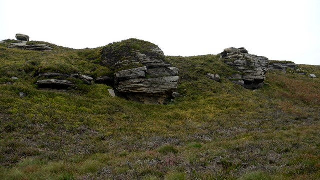Crags north of Cold Law