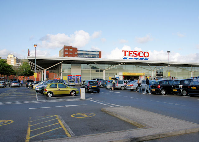 Tesco's Car Park, Wellington Street