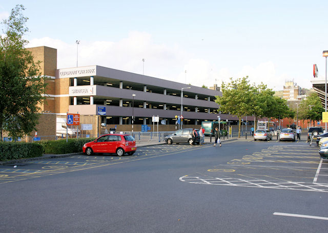 The Quadrant Multi-Storey Car Park, Swansea