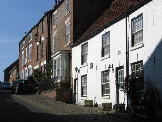 Filey - terrace on Church Street