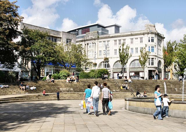 Castle Plaza, Swansea