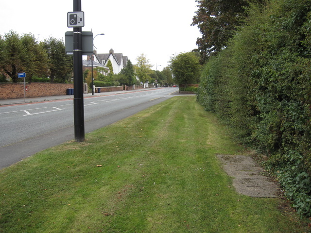 Hough Green towards Chester