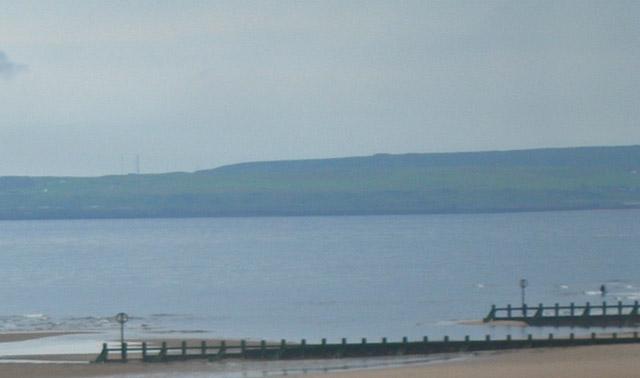 Groynes on Aberdeen beach