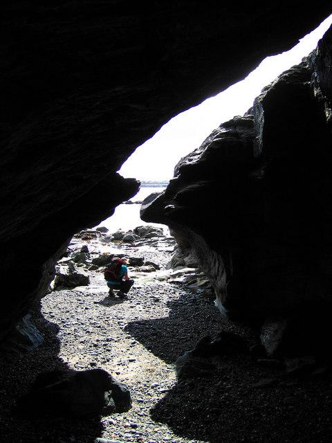 Cave near Trearddur Bay