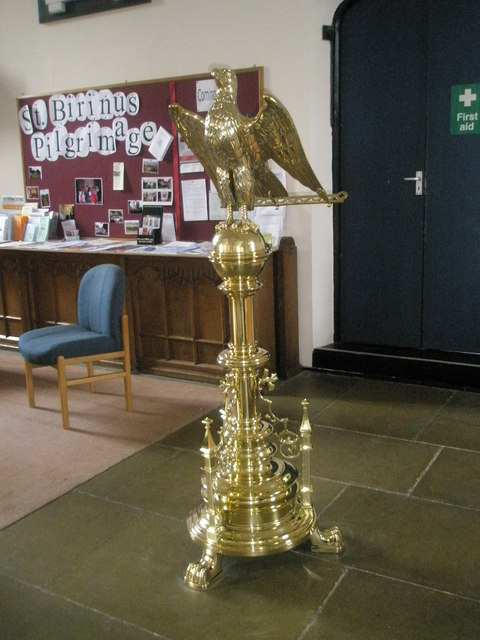 The lectern at Holy Trinity, Fareham