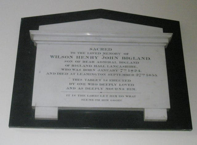 Memorials on the west wall at Holy Trinity, Fareham (3)