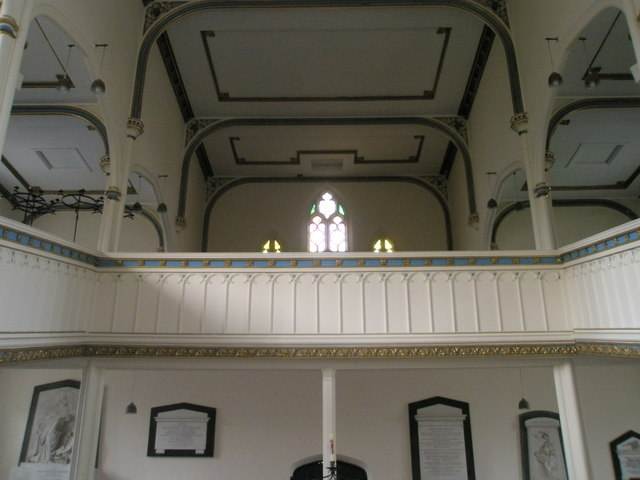 The balcony at Holy Trinity, Fareham