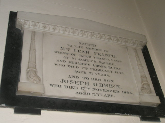Memorials on the west wall at Holy Trinity, Fareham (5)