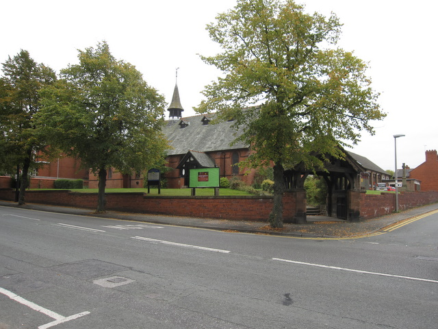 St Mark's church, Saltney