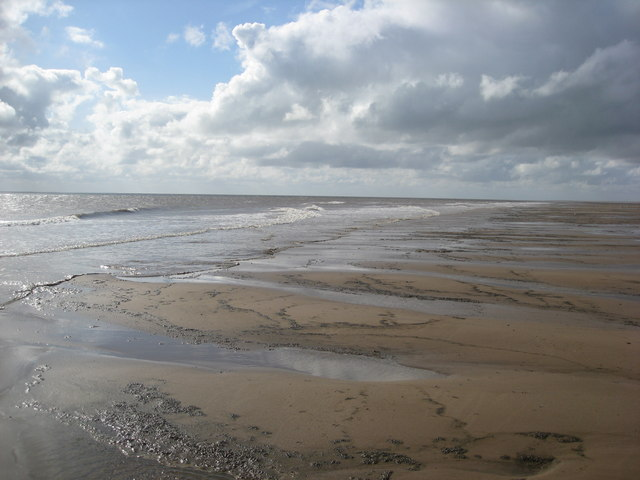 Gibraltar Point - Beach view at low tide