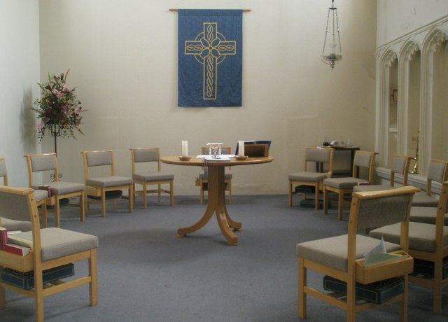 Area for reflection within Holy Trinity, Fareham