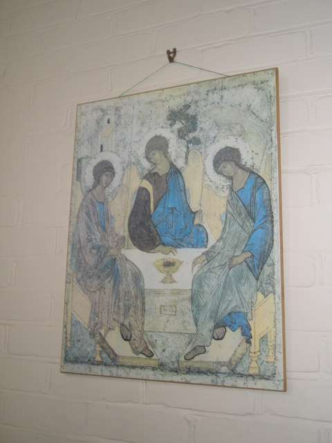 Artwork within Holy Trinity, Fareham