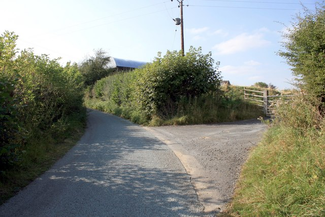 Country lane in Shropshire