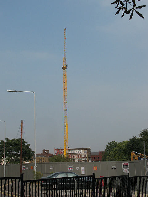 The height for a new building at Deptford Bridge