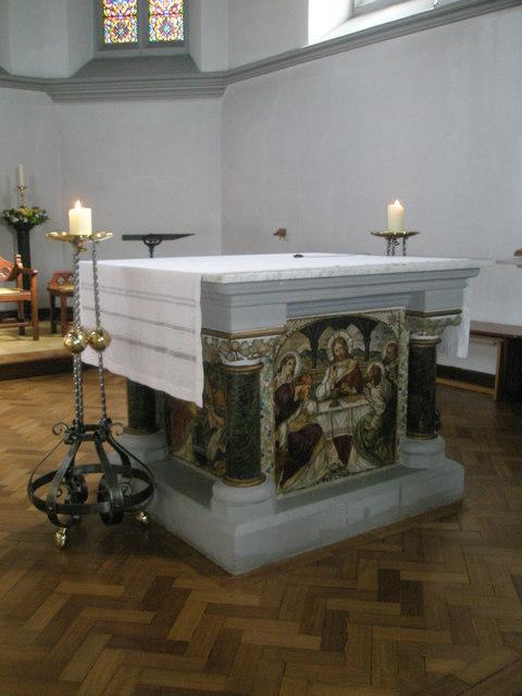 The altar at Sacred Heart RC Church, Fareham