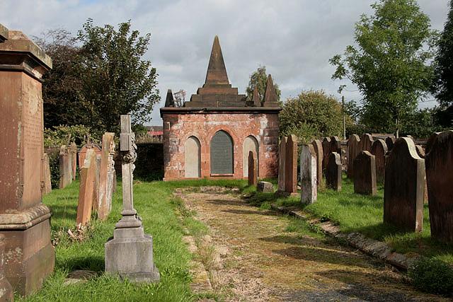 Annan Old Parish Churchyard
