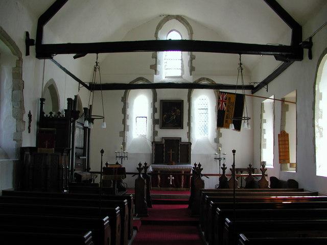 Interior of St Mary's, Moreton