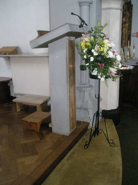 Lectern within Sacred Heart RC Church, Fareham
