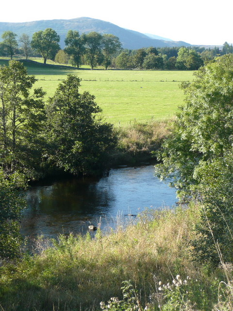 Pasture beside the River Ardle
