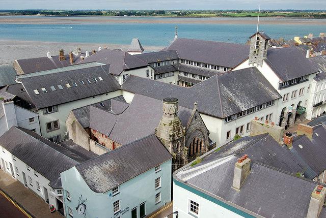 Caernarfon roof tops