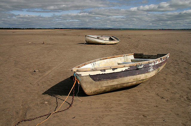 Boats at Redkirk Point