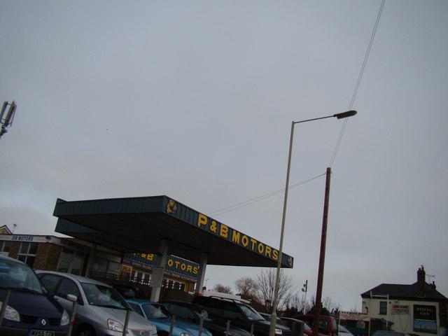 P & B Motors, Reculver Road, Beltinge