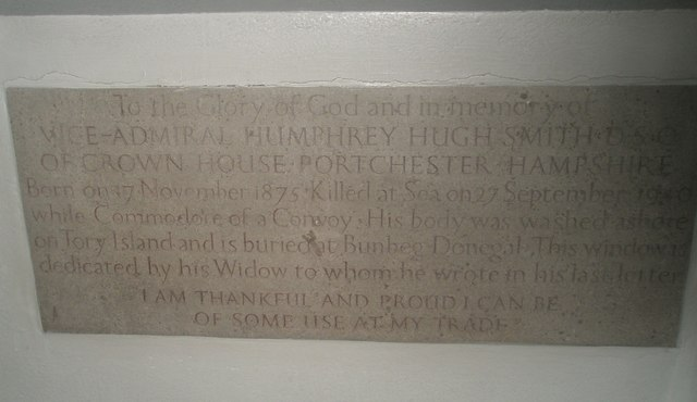 Moving memorial on the south wall of Sacred Heart RC Church, Fareham