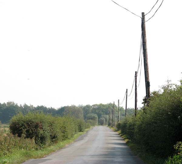 Approaching Stokesby on New Road