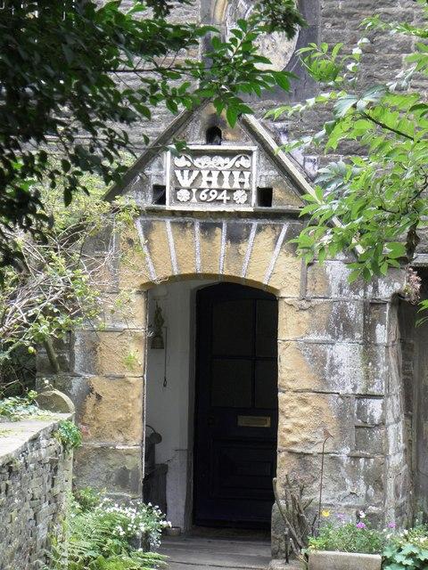 Porch of West Scholes House