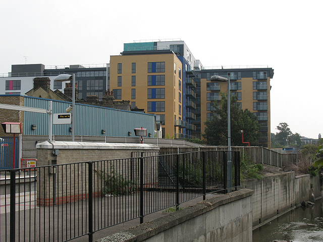 Apartment block on Conington Road, Lewisham