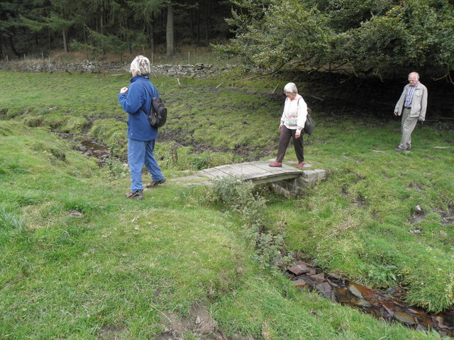 Footbridge over High Birks Beck