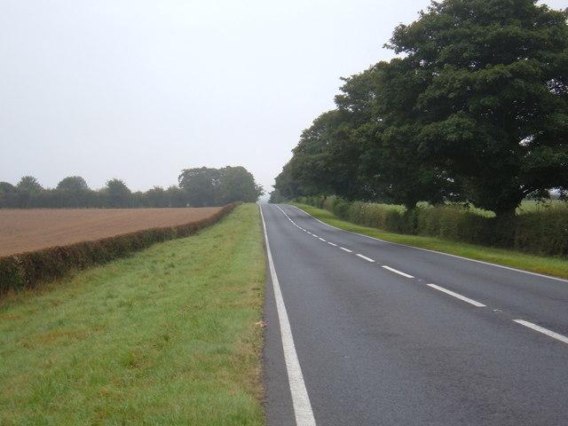 A614 towards Middleton