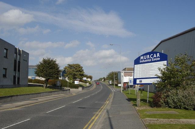 Murcar Industrial Estate Sign